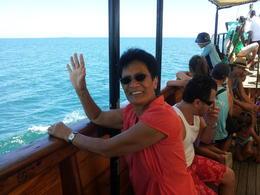 Sailing on the Ra Mamara , Thomas C - February 2012
