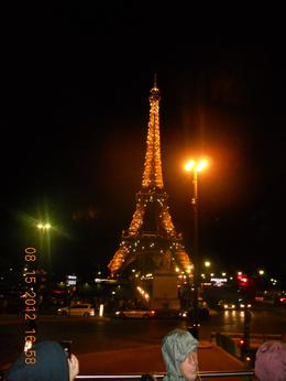 The Eiffle tower on a hot August night , Debbie K - August 2012