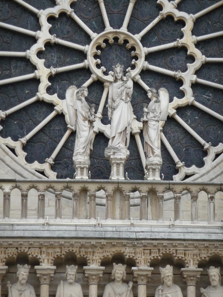 Notre Dame front facade - Paris