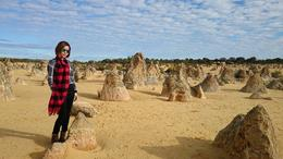 Selfie with pinnacles! , AS - July 2014