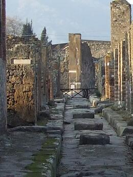Taken during our visit to Pompeii., Patrick M - February 2009