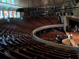 Inside the Ryman Auditorium. , Natalie - April 2014