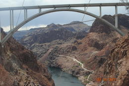 The Hoover Dam Bypass Bridge - October 2011