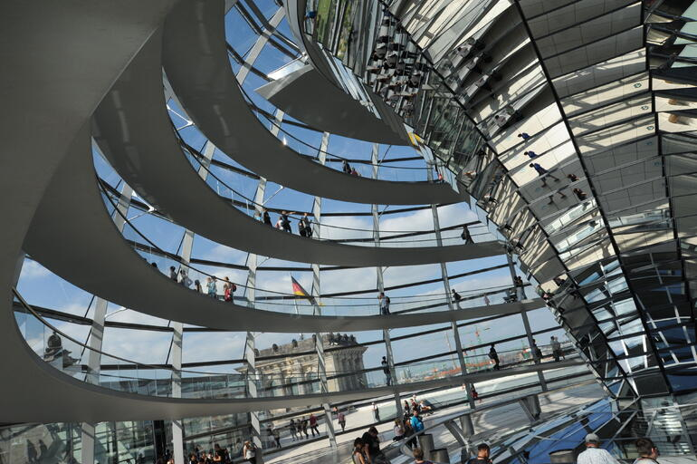 The Reichstag Building - Berlin