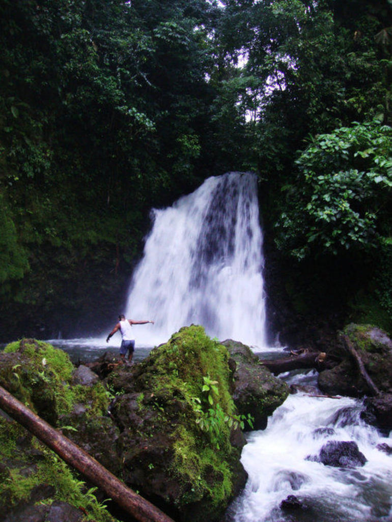 Waterfall in Volcan Arenal National Park - La Fortuna