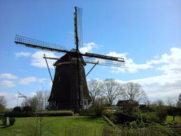 Photo-stop at a windmill en route to Amsterdam. , Sandeep S - April 2012