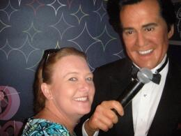 With Wayne Newton - October 2009