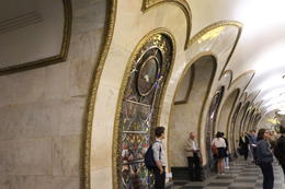 Moscow Metro station, 7 Jun 2017 , Hui Jun H - July 2017