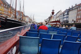les balades en bateaux à 50 avec le passe Copenhagen , Josefina I - August 2017