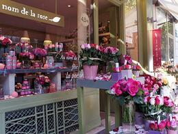 flower shop. rue batignolles, T j W - October 2010