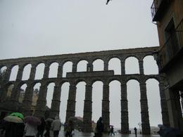 Aqueduct in Segovia , Kate H - April 2012