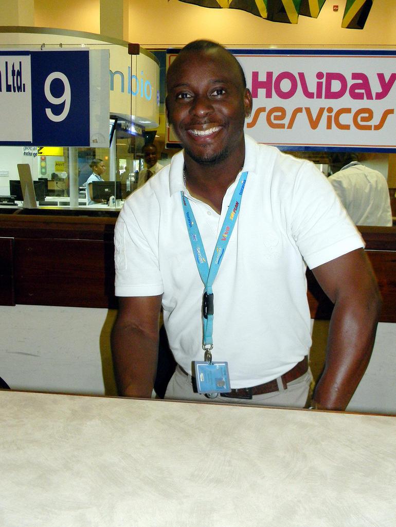 Agent at MBJ - Montego Bay