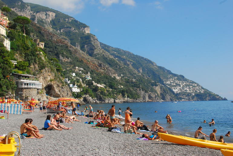 Beach in Positano - Rome