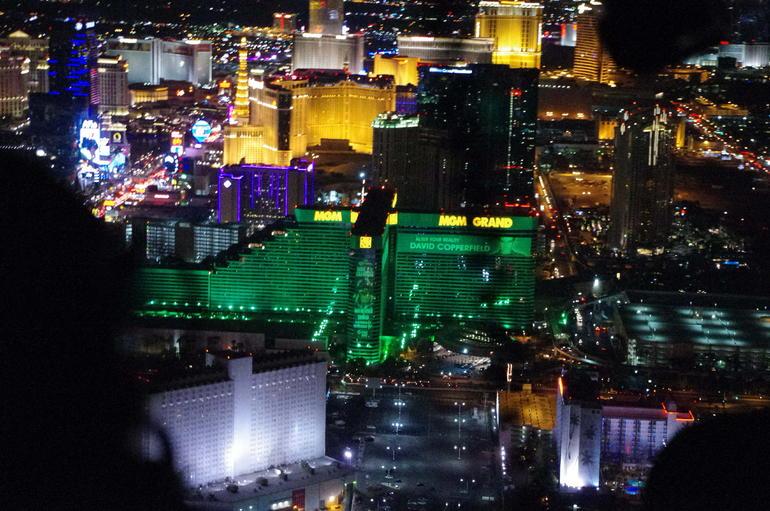 Blick vom Hubschrauber... - Las Vegas