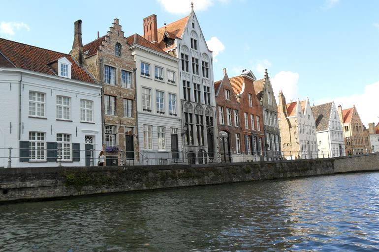 Bruges, Belgium - Paris