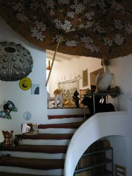 Dali's weird and wonderful home - definitely felt like you were stepping into one of his paintings! - August 2010
