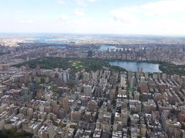 Photo of the top part of Central Park and Jackie Kennedy Onassis Reservoir. , Lorraine B - October 2014