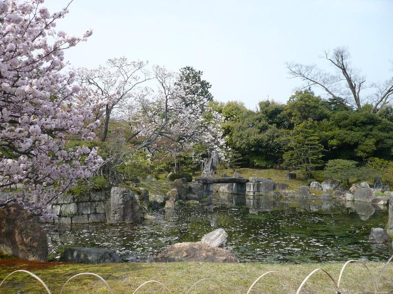 Garden in Nijo Castle - Kyoto