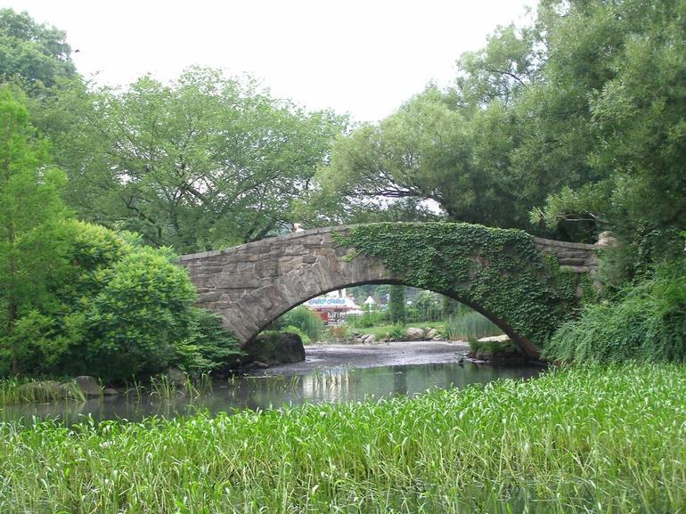 Graceful Arched Bridge - New York City
