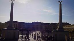Sur la ligne jaune vous observerez ce palais immense : Schloss Schönbrunn , jose l - November 2014
