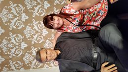 me with the gorgeous george clooney. , mrs a m carter c - September 2015