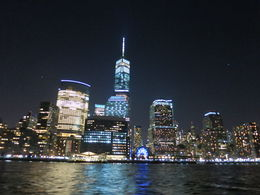 One World Trade Center and Downtown Skyline, Patricia P - July 2015