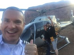 Just landed for our Champagne Breakfast and pictures in the Canyon! , Michael B - October 2015
