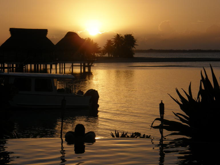 Sunset - Tahiti