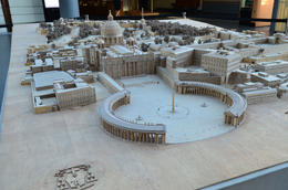 model of Vatican City, Jeff - July 2013