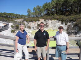 Visiting Wai-O-Tapu on our North Island tour! - February 2014