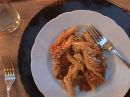 Our pasta dish , Patty B - October 2016