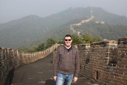 Me at the Mutianyu section of the Great Wall. , Todd F - October 2016