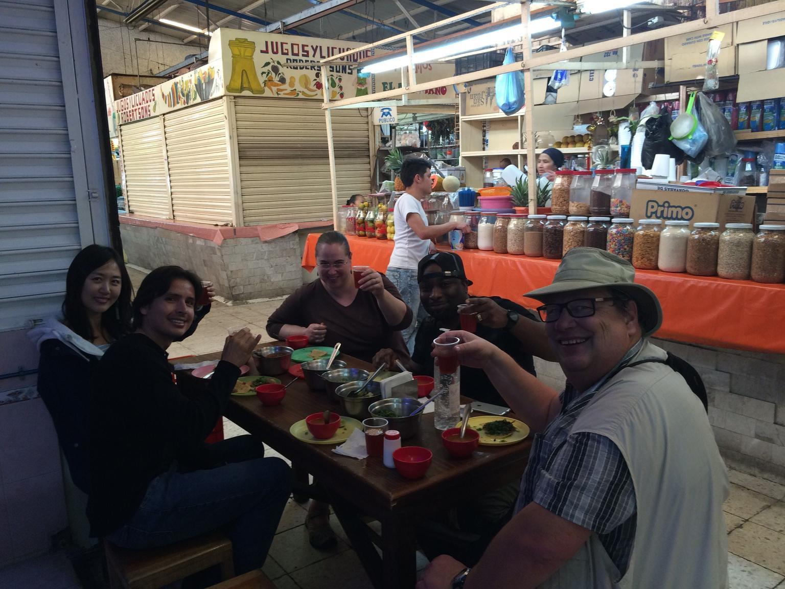 MAIS FOTOS, Excursão gastronômica e pelos mercados da Cidade do México