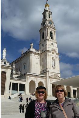 Sheri and Jody at Fatima shrine. , sheryl i - June 2017
