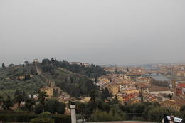 View from Piazzale Michelangelo , MIG - February 2012