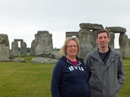 Nadine Gordon and son, John Gordon enjoyed the visit to Stonehenge. , Nadine G - June 2016