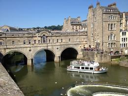 The river, bridge and boats in Bath , Rakela C - August 2013