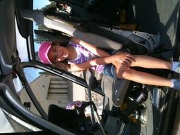 Sitting in the pilots seat.., Jaime T - June 2011