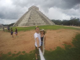 my lovely girlfriend and i at ChiChen Itza , CARLO A - September 2015