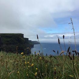 Beautiful shot of the cliffs. , Jasmine C - August 2016