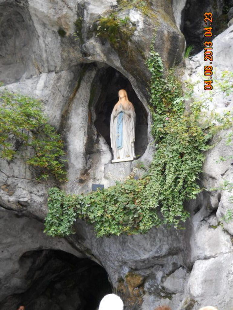 Grotto of Our Lady - Paris
