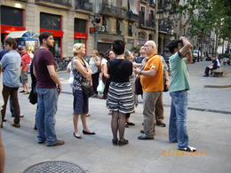 Our guide 'Hans' in the orange shirt was very knowledgable and had a GSOH. Also a proud Catalonian although born in Germany and lived for a decade in the USA. , Gregory L - May 2011