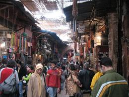 Walking through the souks. - February 2010