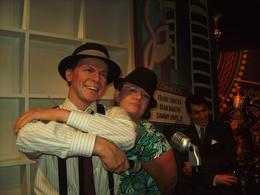 Me & Frank - the Chairman of the Board - October 2009