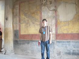 In the home once owned by a wealthy lawyer in Pompeii, Trisha B - September 2010