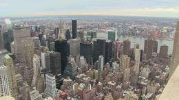 View from the 86th floor observatory at the Empire State Building. Just breathtaking! , Susiekp - January 2014