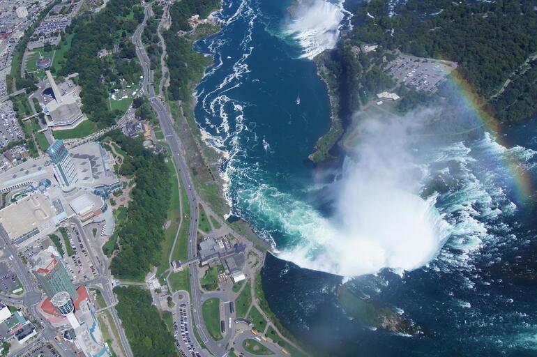 Over the falls - Niagara Falls & Around