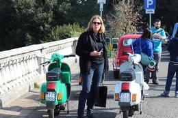 Mary-Ann having a mid tour break , Christo L - April 2014