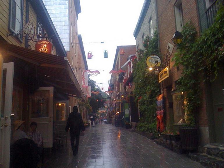 Quaint Vieux Quebec - Quebec City