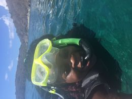 All the snorkeling equipment is provided with instruction , Louna - June 2015